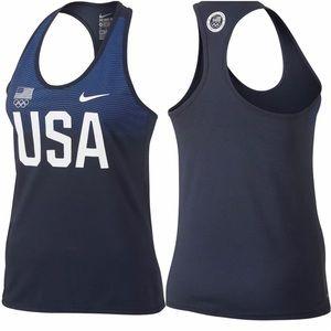 Nike Dri-FIT Team USA Olympic Team Racerback Tank